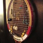 Tenis Raketi Dekorasyon