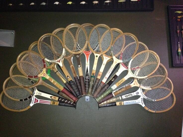 Tenis Raketleri Dekorasyon Uygulamaları