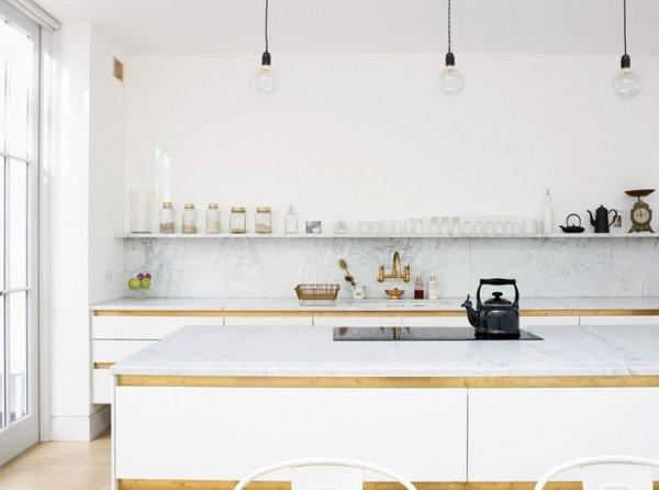 Beyaz Renk Mutfak Dekroasyonu