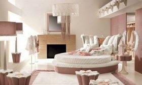 Yatak Odalarında Feminen Bir Hareket: Pembe Renk Yatak Odaları