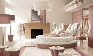 Pembe Yatak Odası