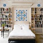 Yatak Odasında Kitaplık