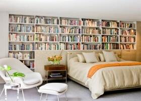 Kitap Tutkunlarına: Yatak Odası Kitaplıkları