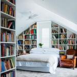 Yatak Odası Kütüphane