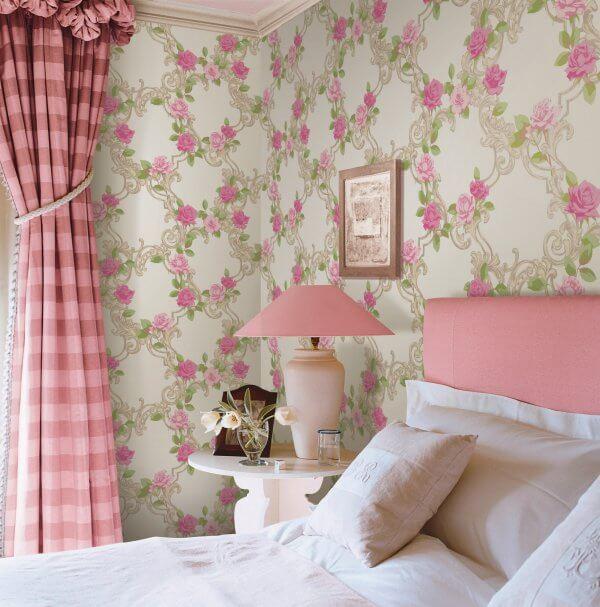 Çiçekli Duvar Dekorasyonu
