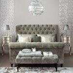 Gümüş Yatak Odası Mobilyası