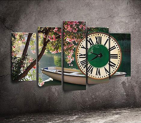 Beş Parçalı Kanvas Saat Modelleri
