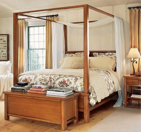 Cibinlikli Yatak Odası Dekorasyonu
