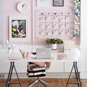 genc-bayanlar-icin-home-ofis-dekorasyonu