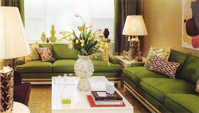 Yeşil Dekorasyon Fikirleri