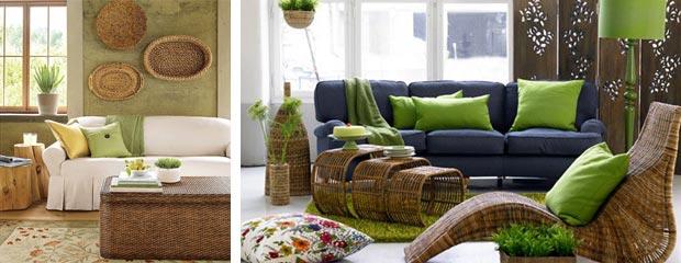 Yeşil Kahverengi Dekorasyon