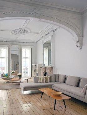 Yüksek Tavanlı Ev Tasarımları