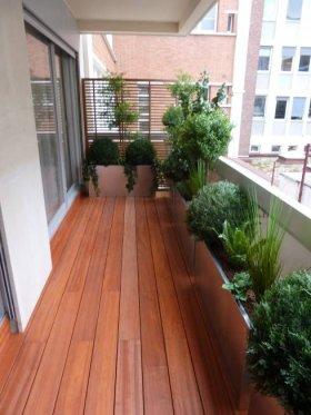 Balkonlarda Laminat Parke Kullanımı
