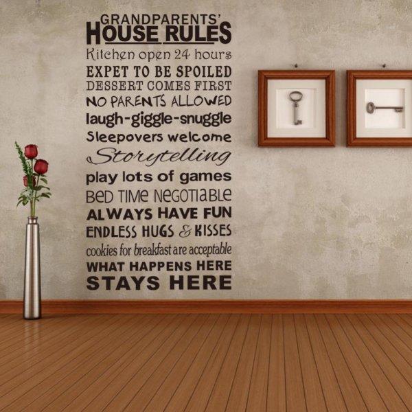 Duvarları Yazıyla Süsleme