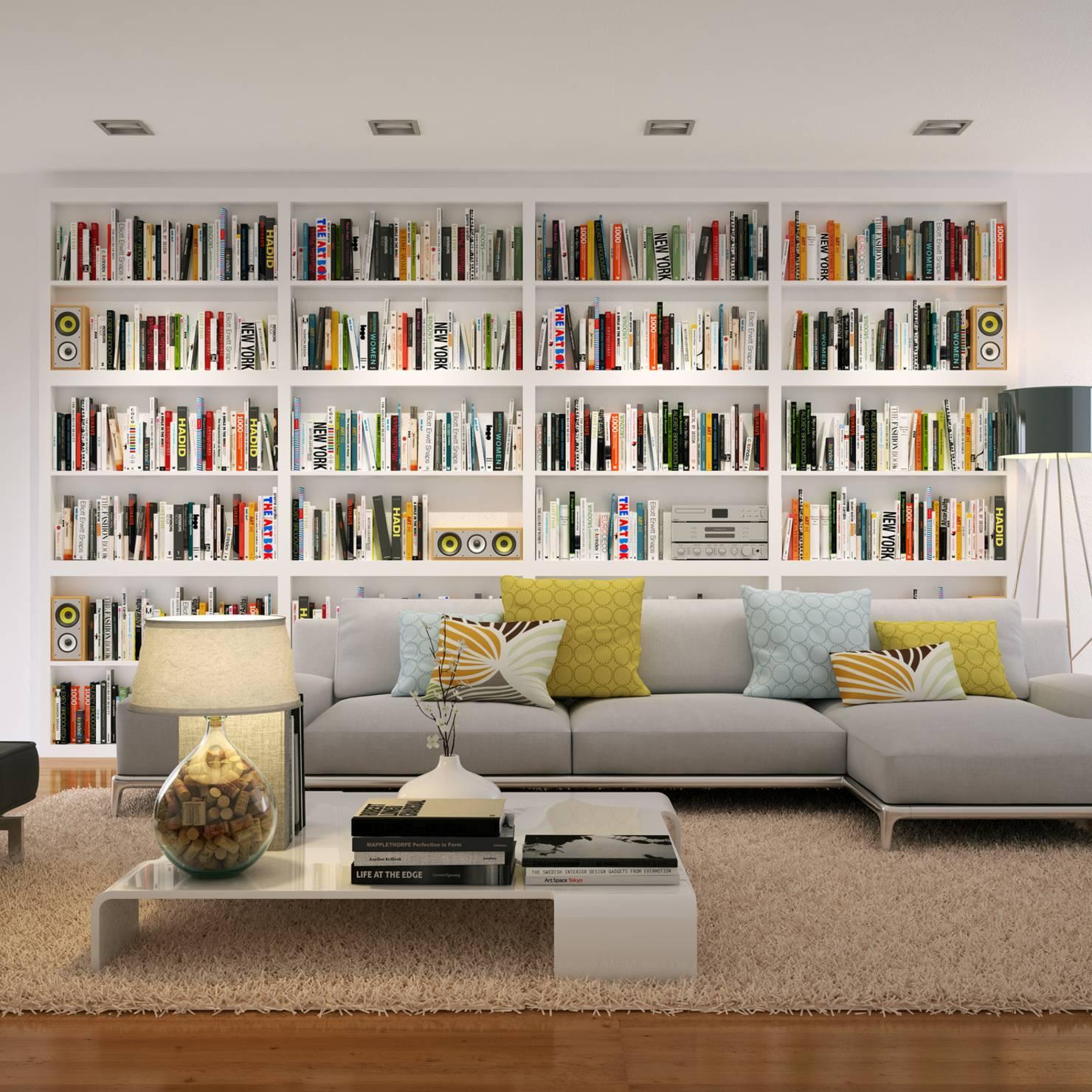 Duvarlarınızı Kitaplıklarla Kaplayın | Dekor Yaşam