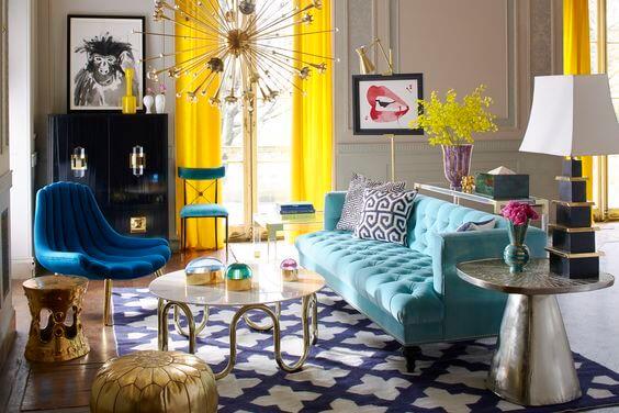 renkli-dekorasyon-ornegi-sari-renk-perdeler-ile