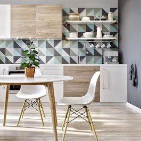 Eames Sandalyeler ile Mutfak Dekorasyon Örnekleri