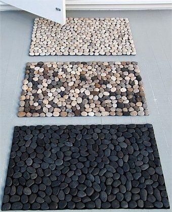 Taşlarla Paspas Yapımı