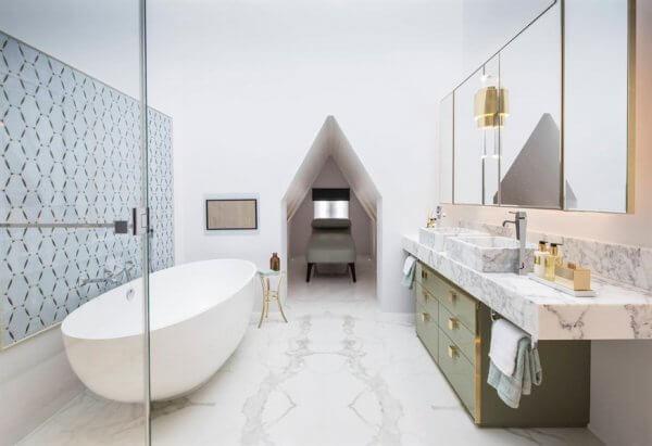 Banyo İçin Boğmayan Fayans Modelleri