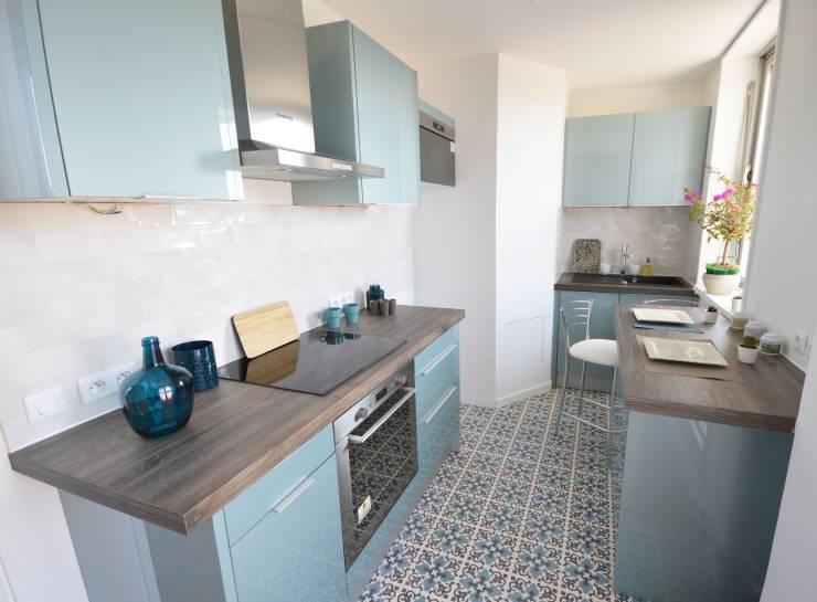 pastel-renk-kucuk-mutfaklar