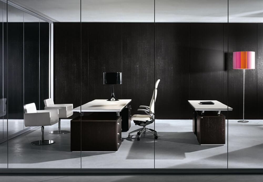 Siyah Ofis Dekorasyonu