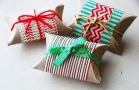 Tuvalet Kağıdı Ruloları ile Yılbaşı Paketleri Yapıyoruz!