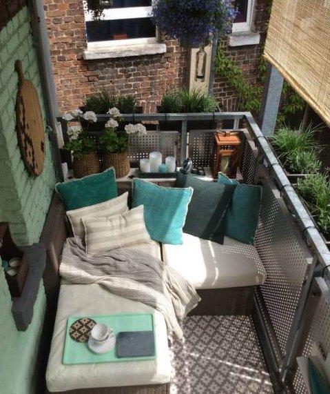 Kucuk Balkonlari Guzellestirmek Icin Oneriler Dekor Yasam
