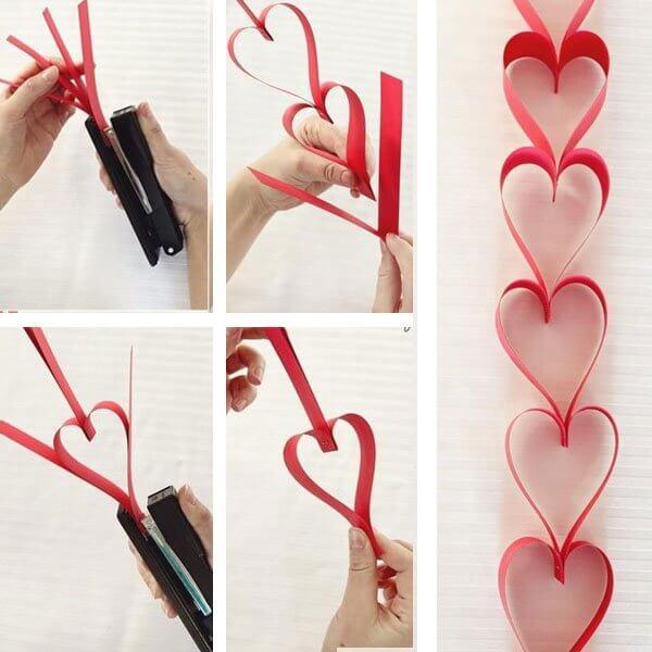 Sevgililer Günü için Kendin Yap Fikirleriyle Dekorasyon