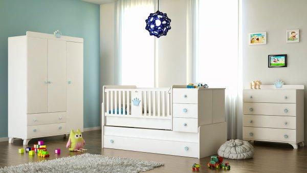 Bebek Odası için Sallanan Beşik mi Sallanmayan mı?