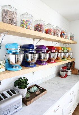 Mutfağın Modern Aksesuarı; Açık Raflar