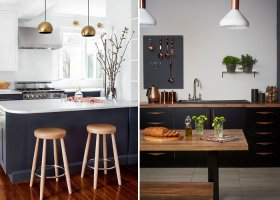 Modern Siyah Mutfak Tasarımları