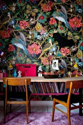 Duvarların Yeni Gözdesi; Çarpıcı Desenlere Sahip Kağıtlar