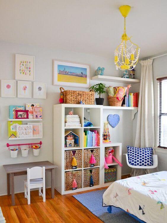Çocuk Odaları İçin Raf Dekorasyonları