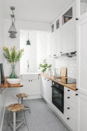 Küçük Mutfaklar İçin Dekorasyon Seçimleri