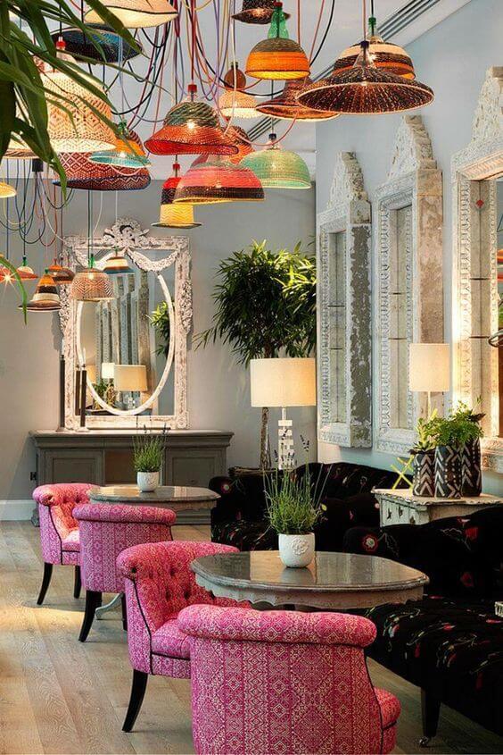 Modern Restaurant Dekorasyon Fikirleri